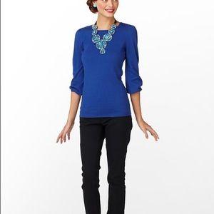 Lilly Pulitzer women's 3/4 sleeve Rebecca sweater